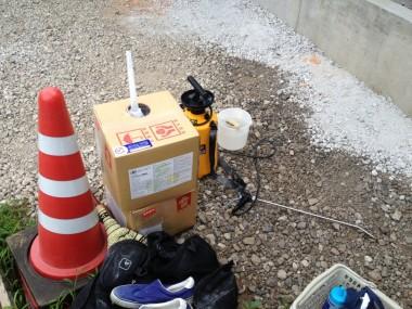 エコボロンPROと施工道具
