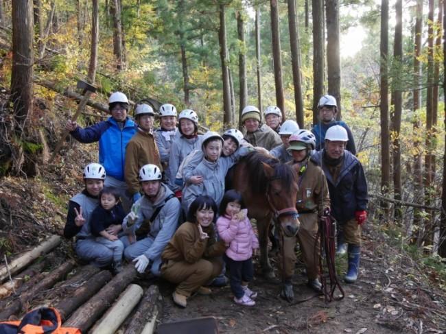 木こりの山仕事体験ツアー inくりこま
