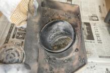 ペレットストーブ燃焼皿
