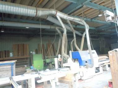 ペレット製造工程 木くず集め