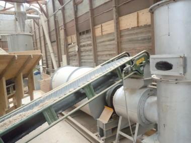 ペレット製造工程 乾燥