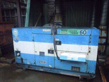 ペレット製造工程 発電機