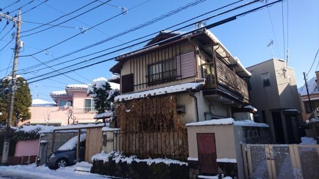 2018年 大雪の日