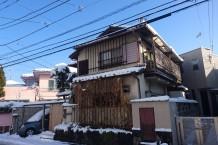 事務所外観(冬)
