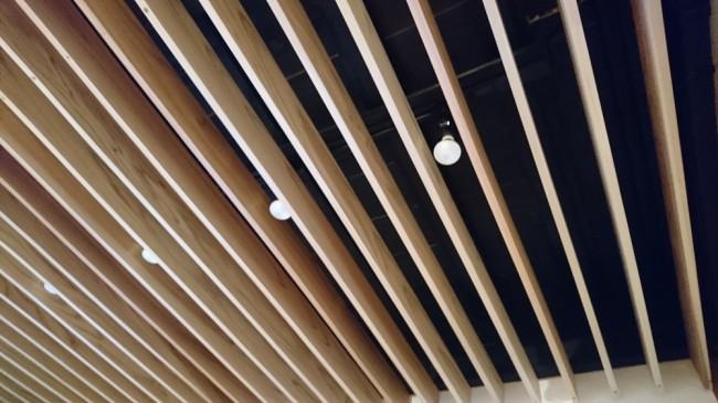 事務所1F天井