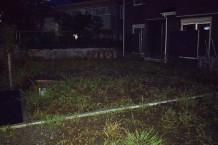地鎮祭前の草刈り@鎌倉市