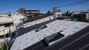 三鷹市現場 屋根