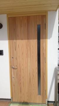 玄関 木製建具