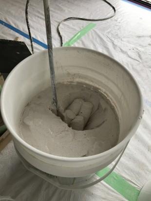 貝てき漆くい 練った状態①