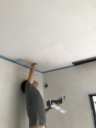 貝てき漆くい 施工時