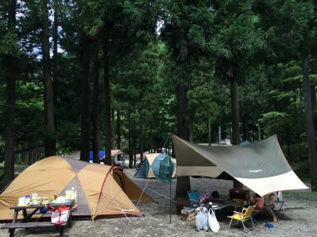 ボスコートキャンプ場